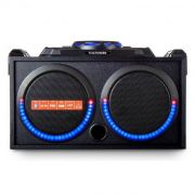 Музыкальный центр TELEFUNKEN TF-PS2208 MP3/ WAV,USB/TF,Bluetooth 5.0 50Вт,проводной микрофон в интернет магазине Импульс, фото