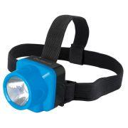 Фонарь ULTRAFLASH LED 5375 1LED, налобный, аккум, 2режим,пластик в интернет магазине Импульс, фото