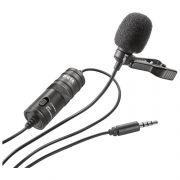 Микрофон петличный BY-M1 6м в интернет магазине Импульс, фото