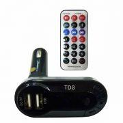 MP3 модулятор авто FM KTS KCB-618 ПДУ,USB в интернет магазине Импульс, фото