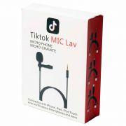 Микрофон петличный Tik Tok MIC Lav разъем-3,5мм 1,5м в интернет магазине Импульс, фото