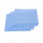 Салфетка из вискозы перфорированная 5шт. синяя волна 006094 в интернет магазине Импульс, фото