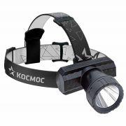 Фонарь КОСМОС KocAcHead3W аккум. (1*3W светод MicroUSB)налобный в интернет магазине Импульс, фото