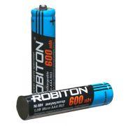 Аккумулятор HR06(AA) ROBITON 600мА в интернет магазине Импульс, фото