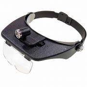 """очки увелич. №81001C(1.2""""/1.8""""/2.5""""/3.5)3 ламп. в интернет магазине Импульс, фото"""